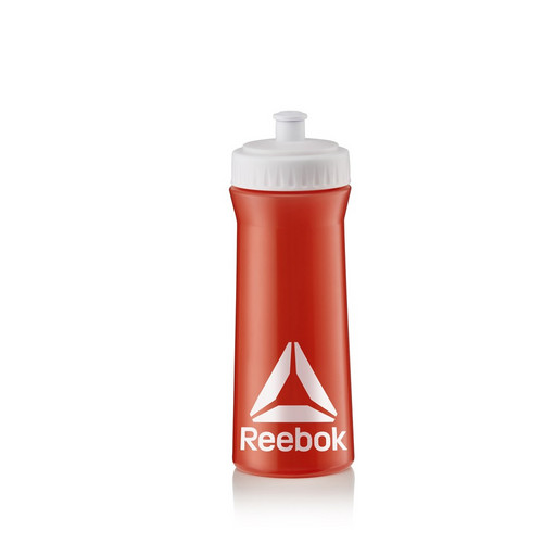Бутылка для тренировок Reebok 500 ml. Красный-Белый, Арт. RABT11003RDWH
