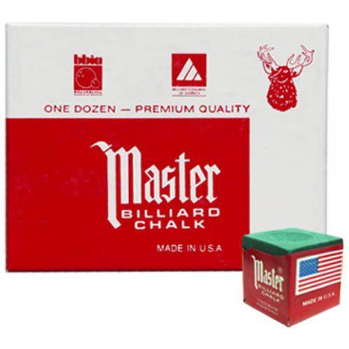 Мел «Master» (12 шт) зеленый