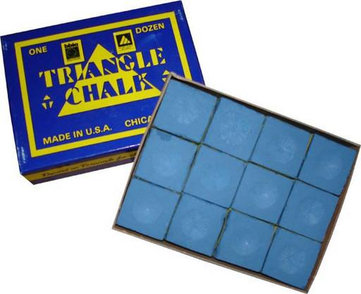 Мел «Triangle» (12 шт) синий