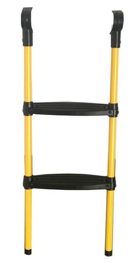 Лестница для  батута DFC 6-10 футов (две ступеньки) жёлтый цвет