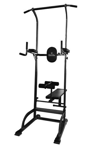 Силовая стойка со скамьей Royal Fitness, Арт. HB-DG003