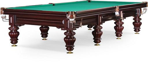 Бильярдный стол для русского бильярда «Turin» 12 ф (махагон)