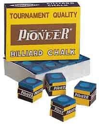 Мел «Pioner» (12 шт) синий