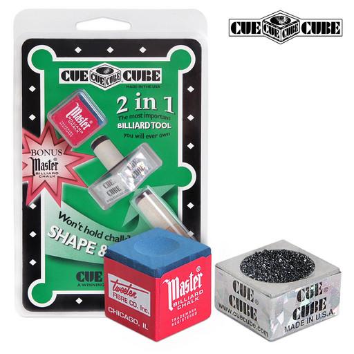 Махровка «Cue Cube» с мелом (блистер)