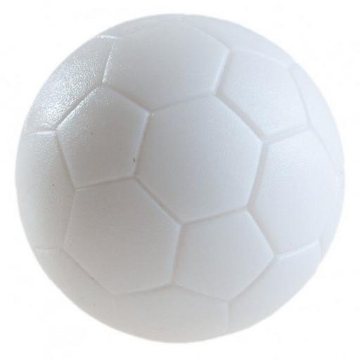 Мяч для настольного футбола  AE-02, текстурный пластик D 36 мм (белый)