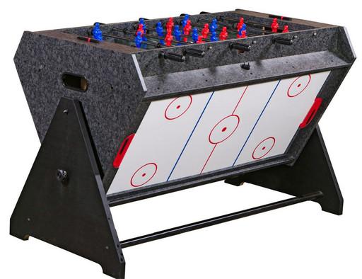 Стол-трансформер «Vortex 3-in-1» (3 игры: аэрохоккей, футбол, бильярд, 127 х 78.7 х 86.4 см, серый)