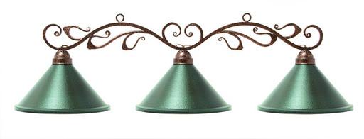 "Лампа на три плафона ""Антик"""