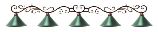 Лампа на пять плафонов «Антик»