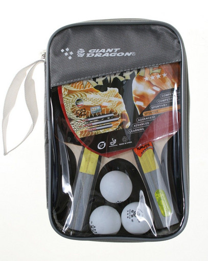 Набор для настольного тенниса «Karate», (2 ракетки, 3 мяча), для интенсивных тренировок