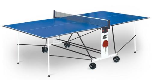 "Стол для настольного тенниса ""Start line Compact Light LX"" (274 х 152,5 х 76 см) с сеткой"