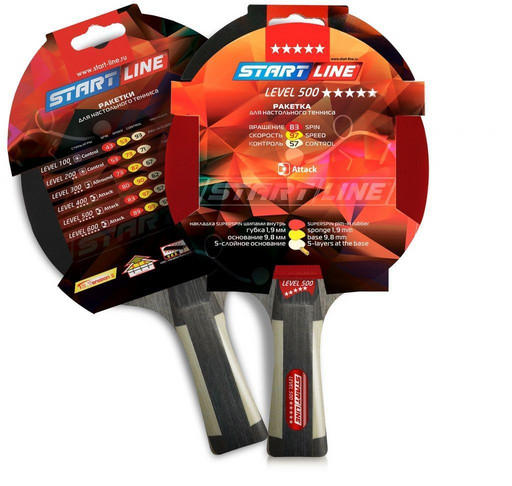 Теннисная ракетка Start line Level 500 New (коническая)