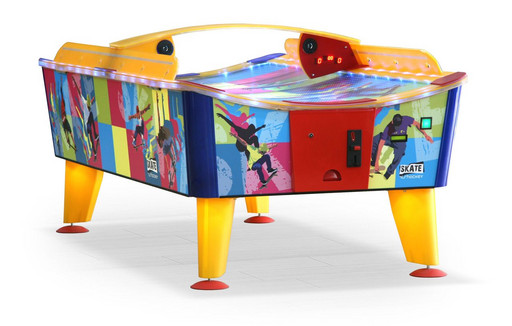 Всепогодный аэрохоккей «Skate» 8 ф (238 х 128 х 83 см, цветной, купюроприемник/жетоноприемник)