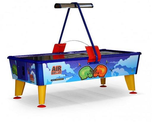 Аэрохоккей «Air Battle» 8 ф (238 х 128 х 83 см, цветной, жетоноприемник/ купюроприемник)