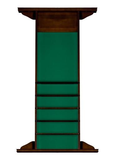 Киевница навесная «Classic» на 4 кия (сосна, орех пекан, 149 х 85 х 9,5 см)