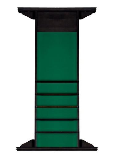 Киевница навесная «Classic» на 4 кия (черный орех, 149 х 85 х 9,5 см)