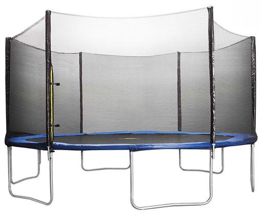 Батут DFC Trampoline Fitness 14 футов с сеткой (427 см)