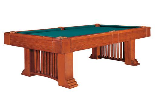 Бильярдный стол для пула «Romance» 8 ф (коричневый) со столешницей + сукно