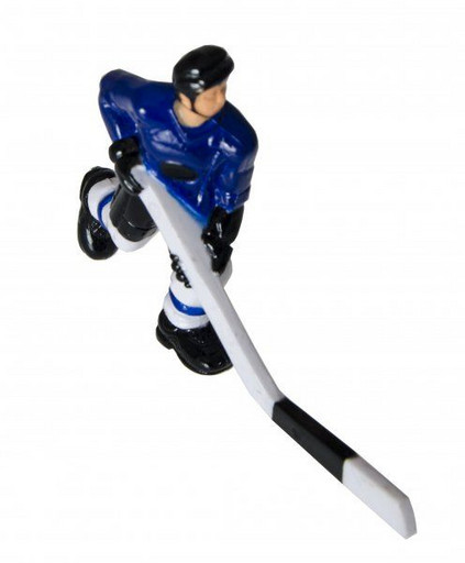 Хоккеист №30, короткая клюшка «Edmonton» (синий)