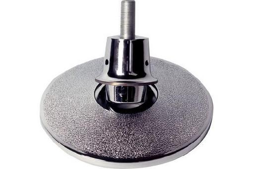 Комплект опор регулируемых для бильярдного стола хром (4шт) D21 см