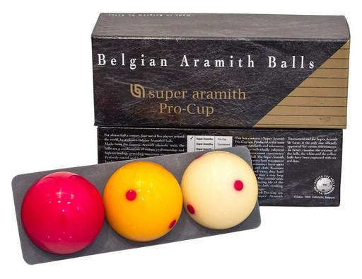 Комплект шаров 61.5 мм «Aramith Carom Pro Cup»