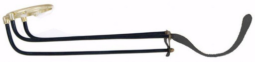 Комплект скатов для луз с выкатом (6 шт., под шар 68 мм, вн./нар. диаметр кольца 75/90 мм, черный ремешок)