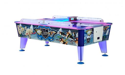 Всепогодный аэрохоккей «Arctic» 8 ф (238 х 128 х 83 см, цветной, купюроприемник / жетоноприемник)