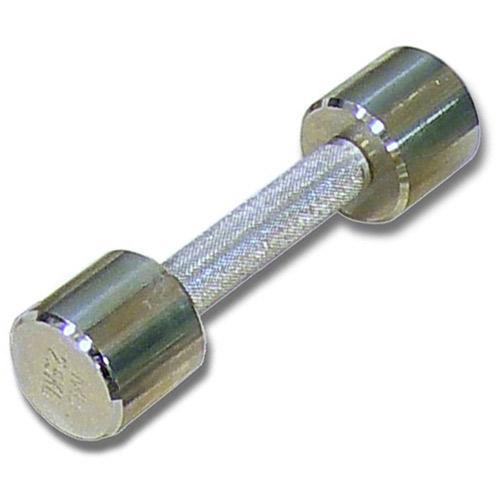 Гантель хромированная для фитнеса 2 кг MB-FitM-2