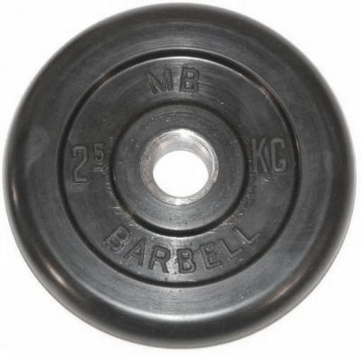 Barbell диски 2,5 кг 31 мм