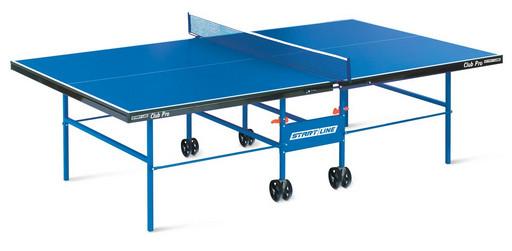 "Складной стол для настольного тенниса ""Start line Club-Pro"" (274 Х 152.5 Х 76 см ) с сеткой"