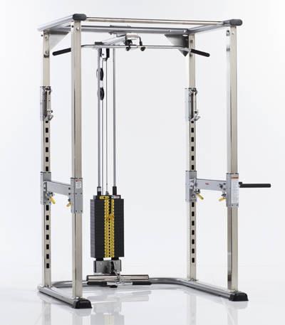 Регулируемая тяга со встроенным весовым стеком/Рама для приседаний CPR - 305WS