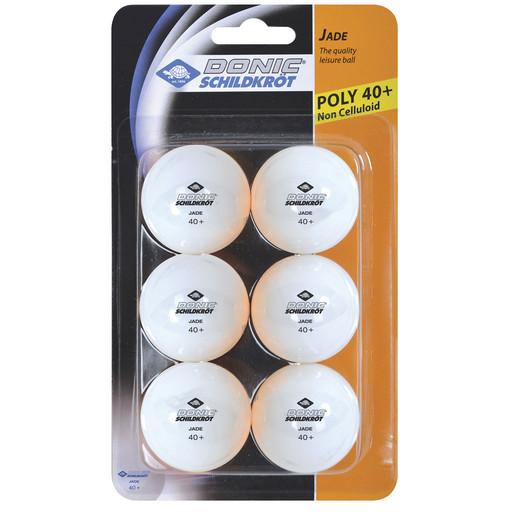 Мячики для настольного тенниса DONIC JADE 40+, 6 шт