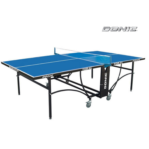 Всепогодный теннисный стол DONIC TORNADO -AL - OUTDOOR (синий)