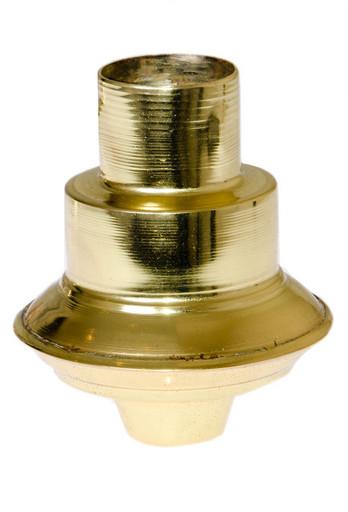 Декоративный наконечник для штанги (золотистый)