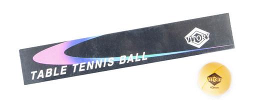 Комплект мячей для настольного тенниса «Vitory», 6 шт./компл.