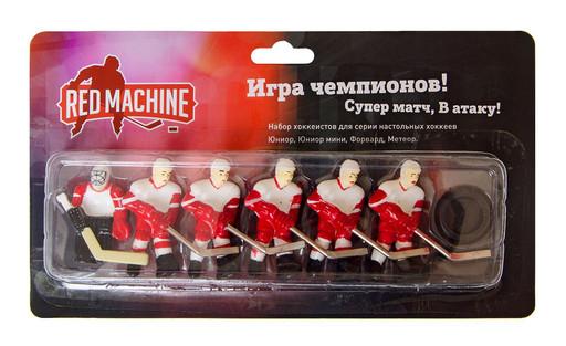 Комплект игроков с шайбой «Метеор/Форвард» (красный)