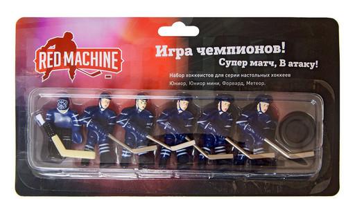 Комплект игроков с шайбой «Метеор/Форвард» (синий)