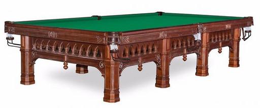 Бильярдный стол для русского бильярда «Gothic» 10 ф (6 ног)