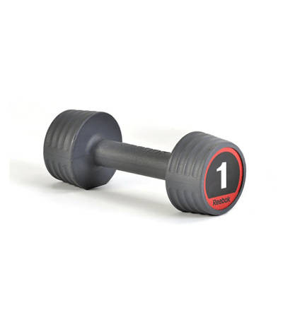 Гантели обрезиненные Reebok, 2 кг (пара) RSWT-10152