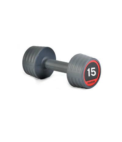 Гантели обрезиненные Reebok, 15 кг RSWT-10065