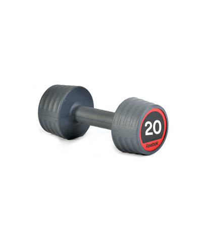 Гантели обрезиненные Reebok, 12,5 - 20 кг RSWT-10070