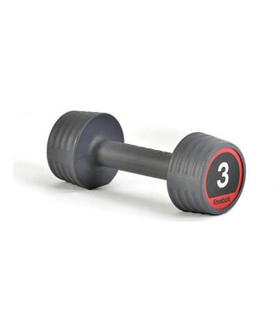 Гантели обрезиненные Reebok, 3 кг (Пара) RSWT-10053