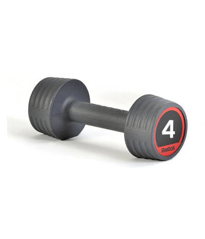 Гантели обрезиненные Reebok, 4 кг (пара) RSWT-10054
