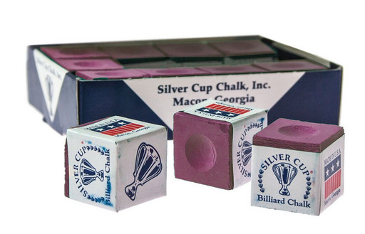 Мел «Silver Cup» (12 шт) розовый