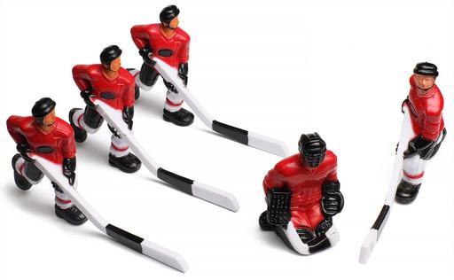 """Команда игроков для хоккея """"Red Machine"""", красные"""