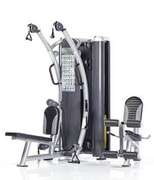 Многофункциональный тренажер с двумя весовыми стеками HTX-2000