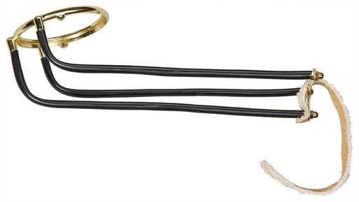Комплект скатов для луз с выкатом (6 шт., под шар 68 мм, вн./нар. диаметр кольца 80/95 мм, светлый ремешок)