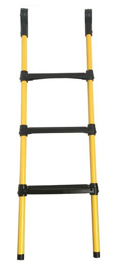 Лестница для  батута DFC 12-16 футов (три ступеньки) жёлтый цвет