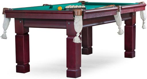 Бильярдный стол для русского бильярда «Texas» 7 ф (махагон) ЛДСП