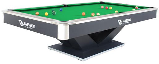 Бильярдный стол для пула «Victory II Plus» 8 ф (черный)