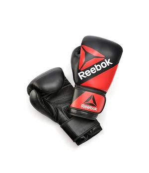 Кожаные перчатки для бокса Reebok 12 oz  RSCB-10040RDBK